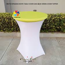 wholesale fancy spandex party cocktail table cover highboy stretch