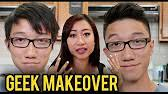 fungbros haircut asian nerd makeover ft leendadproductions youtube