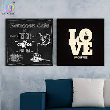 online get cheap poster wall frame coffee shop aliexpress com