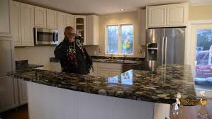 Youtube Painting Kitchen Cabinets Granite Countertop Painting Kitchen Cabinets Youtube Ceramic