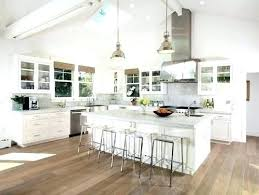 Vaulted Ceiling Kitchen Lighting Kitchen With Vaulted Ceiling Bloomingcactus Me