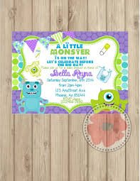 inc baby shower decorations designs monsters inc baby shower decorations in conjunction with