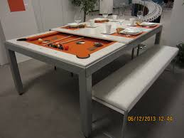 fusion pool dining table pool table converts to dining elegant red styles with trend