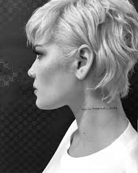why neck tattoos are on the rise among the fashion set fashionista