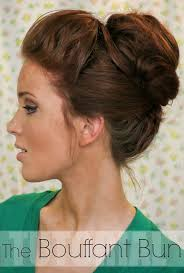 25 trending bouffant bun ideas on pinterest popular hairstyles