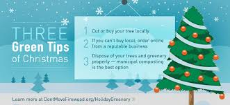 holiday tips don u0027t spread forest pests with your christmas tree
