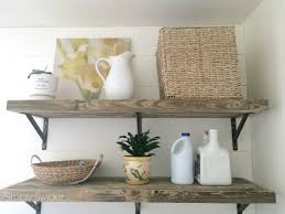 Laundry Room Storage Bins by Reclaimed Shelves Diy Simply Swider