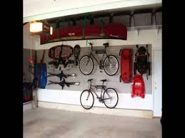 bike workshop ideas awesome detached garage storage come with chic canoe and bicycle