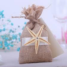 linen favor bags aliexpress buy 16x9cm rustic small burlap starfish