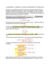 population genetics and hardy weinberg genetic equilibrium name
