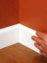 base molding for hardwood floors molding trim installing t molding