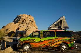 camper van 4 berth campervan rentals usa escape campervans