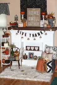 thanksgiving mantel decor ellery designs