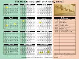 stock exchange 2017 2018 holidays ise holidays 2017 2018