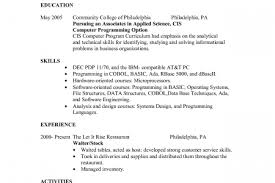 Waiter Resume Example by Examples Of Awards On Resume Reentrycorps