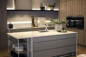 Kitchen Cabinet Pull Down Shelves Kitchen Design Wall Open Shelves Microwaves White And Gray