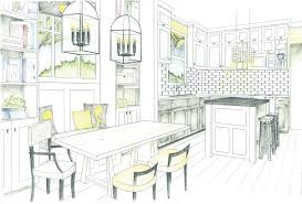 dining table elevation drawing google search interior design