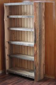 Reclaimed Wood Shelves by Best 25 Reclaimed Wood Bookcase Ideas On Pinterest Bookshelf