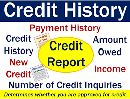 credit history definition and meaning market business news