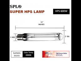 600 watt grow light bulb horticulture 3pack 600 watt high pressure sodium hps grow light bulb