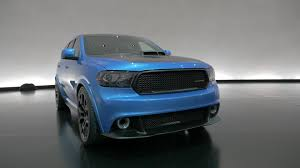 dodge durango shaker concept a 392 v8 in front of six viper seats