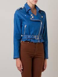 cheap biker jackets amapô cropped denim biker jacket women clothing jackets cheap sale