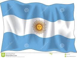 flag argentina stock vector image american symbol 4070465