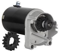 amazon com starter motor briggs u0026 stratton 14 16 18 hp starter