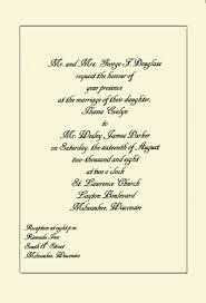 sle of wedding ceremony program sle wedding invitation template popular wedding invitation 2017