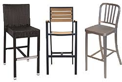 commercial outdoor bar stools restaurant bar stools