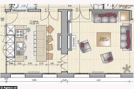 plan de cuisine moderne avec ilot central ophrey com plan de cuisine moderne avec ilot central prélèvement