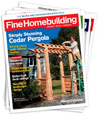Fine Woodworking Magazine Subscription Deal by Fine Homebuilding Subscriptions