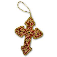 canterbury cathedral medieval cross tree decoration