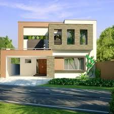 Modern House Front peytonmeyer