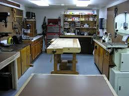 home workshop design layout garage woodshop layout