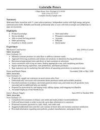 resume sales resume for sales associate f resume