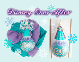 diy frozen elsa christmas tree decoration craft youtube