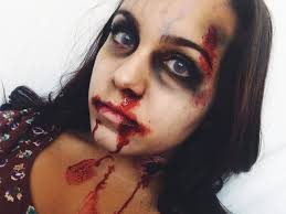 zombie halloween makeup tutorial youtube