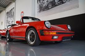 Classic 1986 Porsche 911 Carrera 3 2 Cabriolet Roadster For Sale