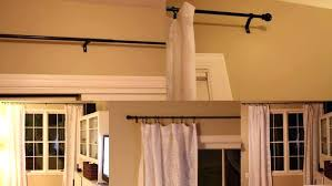 Hang Curtains From Ceiling Best 20 Ceiling Mount Curtain Rods Ideas On
