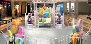 easter décor created by center stage productions defines the look