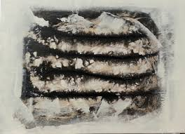 Contemporary Art Home Decor Spray Paint Art Black And White Nature Painting On Canvas Made By