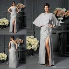 special short chiffon dress with a jacket for mother of the bride