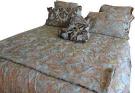 crewel bedding grapevine olive cotton viscose velvet duvet cover