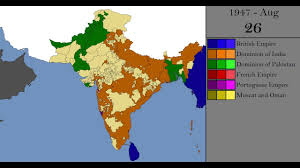 Map Of India And China by The Creation Of India And Pakistan Every Day Youtube
