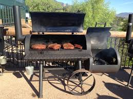 Brinkmann Smoke N Grill Professional Smoker by Yoder Kingman 24 U2033 Offset Smoker This My Kind Of Smoker Bbqorama