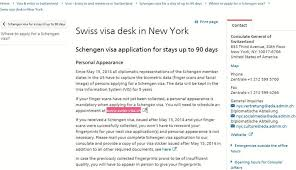 desk appearance ticket nyc how i applied for switzerland visa from new york sucessfully