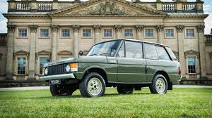 old land rover models this is the first ever range rover top gear