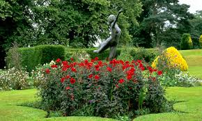 formal garden park and gardens rode hall and gardens