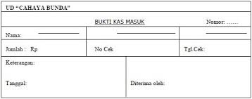 format buku jurnal penerimaan kas contoh jurnal penerimaan kas perusahaan dagang